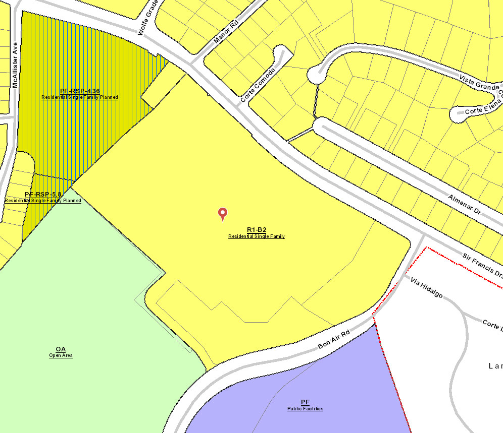 Marin County Zoning Map