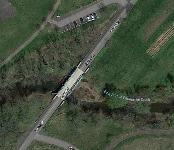 Old location of Steeley's Bridge