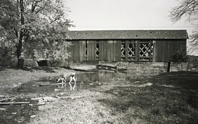Mood's Bridge in the 1950s