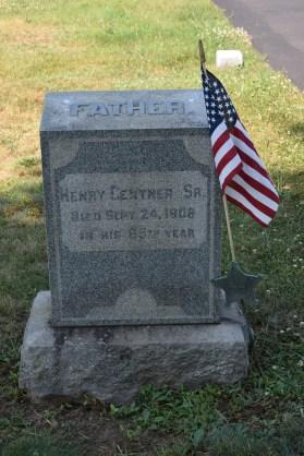 Henry Gentner grave