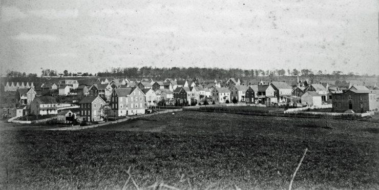 Perkasie in 1886-1888