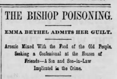 bishop poisoning