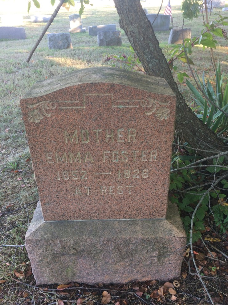 emma foster resting place