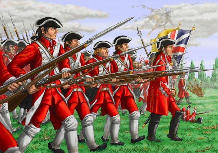 redcoats