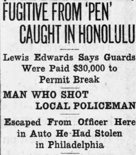 Edwards Caught