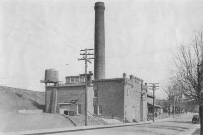 Perkasie's Electric Plant in 1929