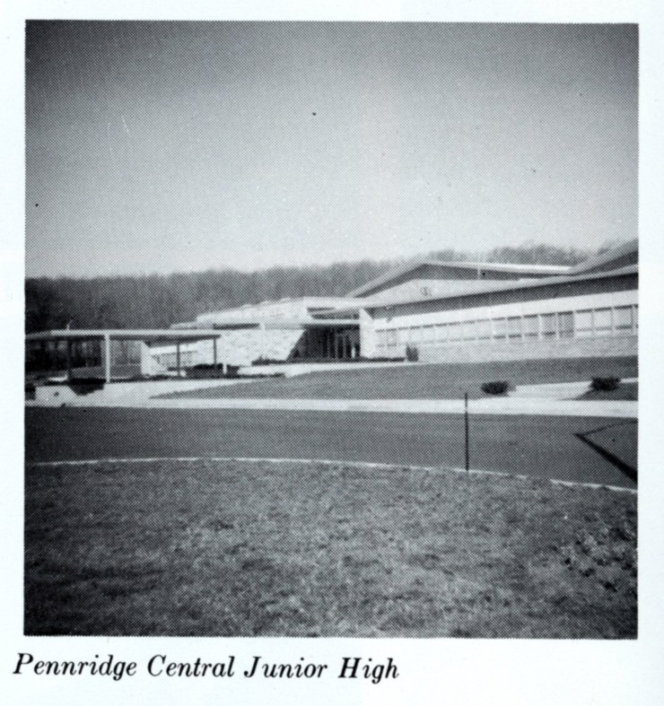 1966 book Pennridge Central Junior High School