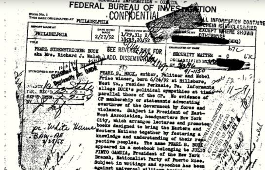 Pearl Buck file