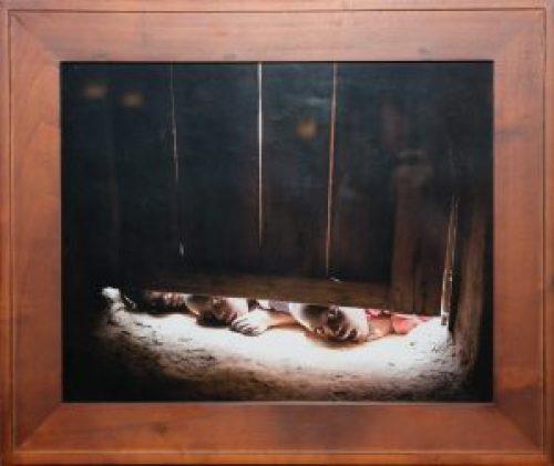 Curious, Barry Sherbeck, Photograph, 2011, 23 x 29, Mark 10:14,15, $250