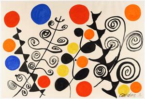 Alexander Calder, Composition,1970