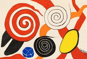 Alexander Calder, Composition,1973