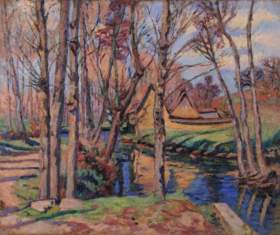 Armand Guillaumin, Le moulin de la Roche