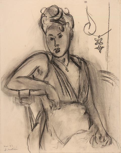 Henri Matisse : Femme assise, Michaela