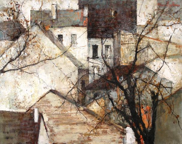 Michel de Gallard, Maisons et arbres