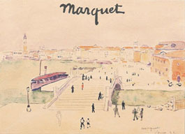 Exposition Albert Marquet at the Biennale des Antiquaires, 2000