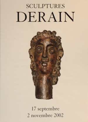 "Poster of the exhibition ""Derain"" Sculptures 2002 at Galerie de la Présidence in 2002"