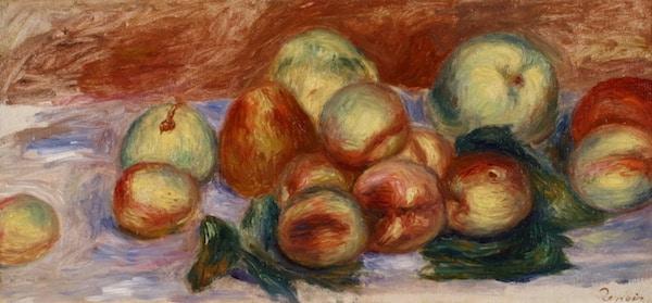 Auguste Renoir Nature morte aux fruits Huile sur toile VENDU