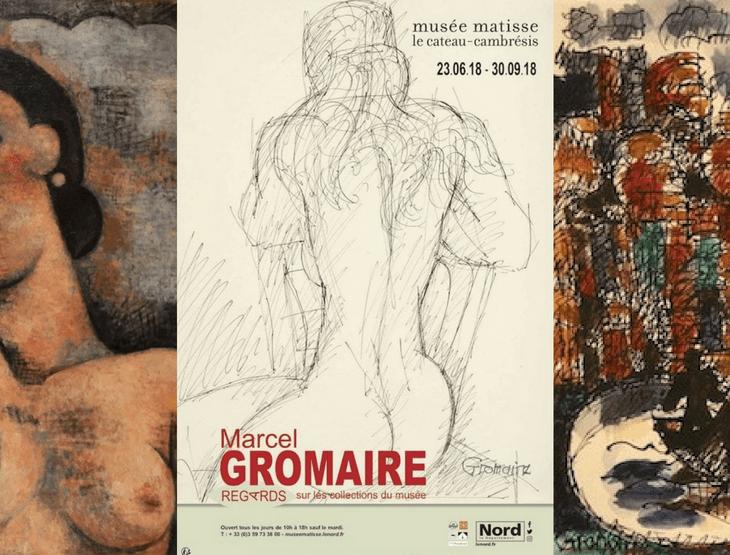 """Loan to the Museum Musée Matisse Le Cateau-Cambrésis by Galerie de la Présidence for """"Marcel Gromaire, regards sur les collections du musée"""""""