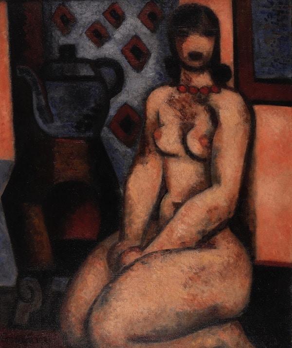 Marcel Gromaire, Nu, 1931, Huile sur toile, 55 x 46,5 cm