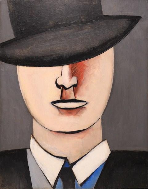 Jean Hélion Émile 1939 Oil on panel, 35,5 x 28 cm