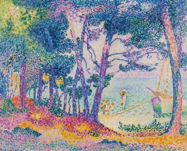 Henri-Edmond Cross, loaned work to Musée des Impressionnismes (3)