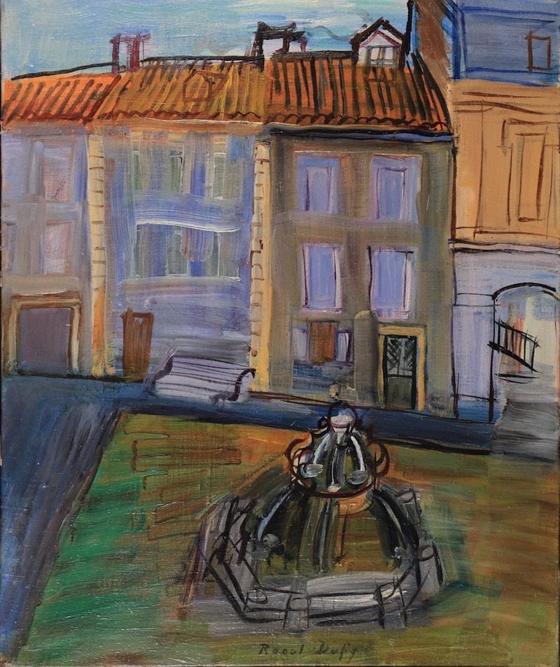 Raoul Dufy Fontaine à Aspet 1945 Oil on canvas, 46 x 38 cm