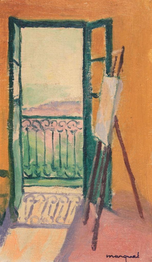 Albert MARQUET : Le Chevalet, 1944