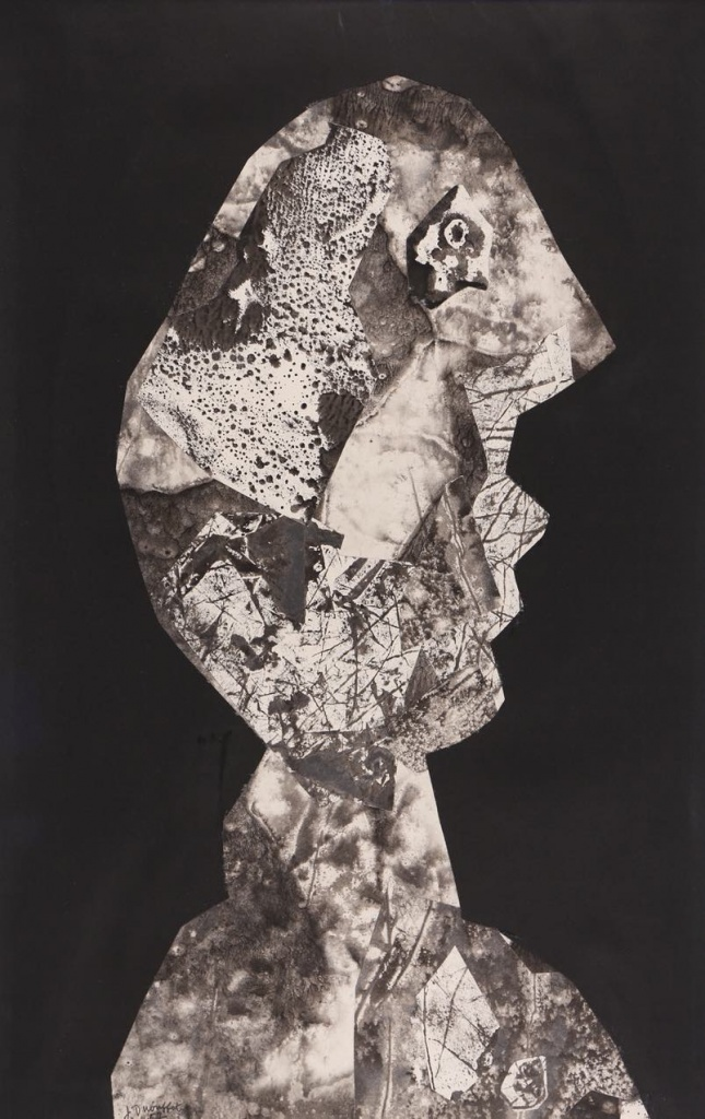 Jean Dubuffet, Tête griotte, 1957