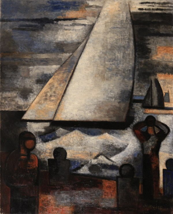 Marcel Gromaire, Grande voile blanche, 1928
