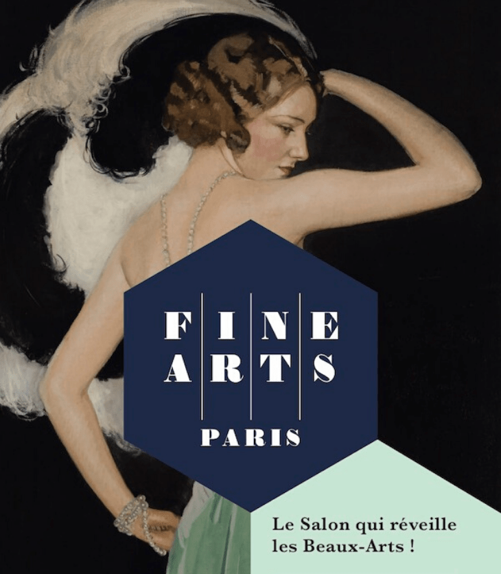 Affiche du salon Fine Arts Paris 2019