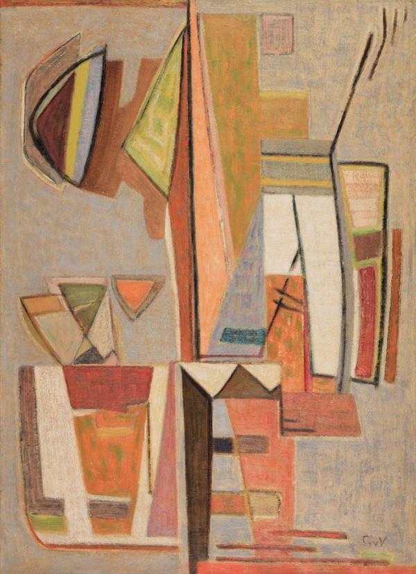 Geer van Velde, Composition, C.1953