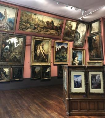 Vue du Musée Gustave Moreau