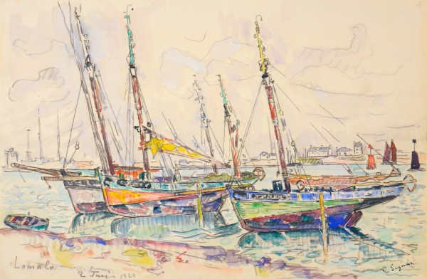 Paul Signac Lomalo 1929 Watercolor