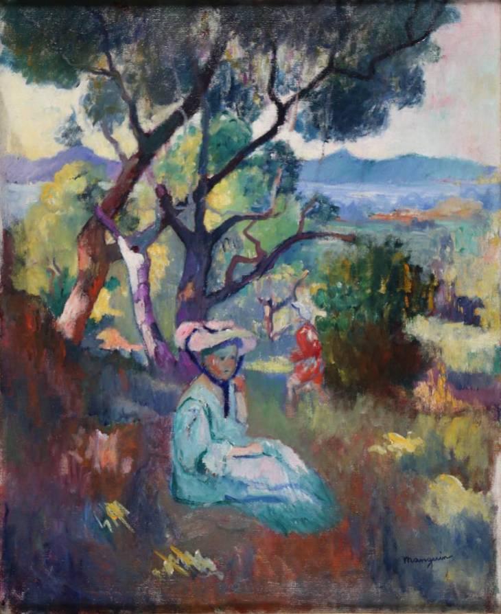Henri MANGUIN, Le jardin de la villa Demière, Saint-Tropez