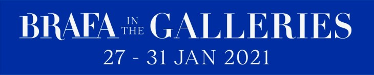 BRAFA In The Galleries Logo and dates 2021