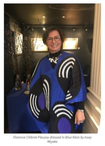 Paris Diary, Exposition Bleu, Florence Chibret-Plaussu