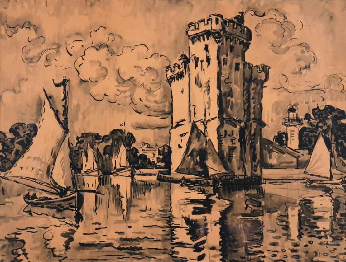 Paul Signac, La Rochelle, les Pêcheurs du Perthuis, 1924