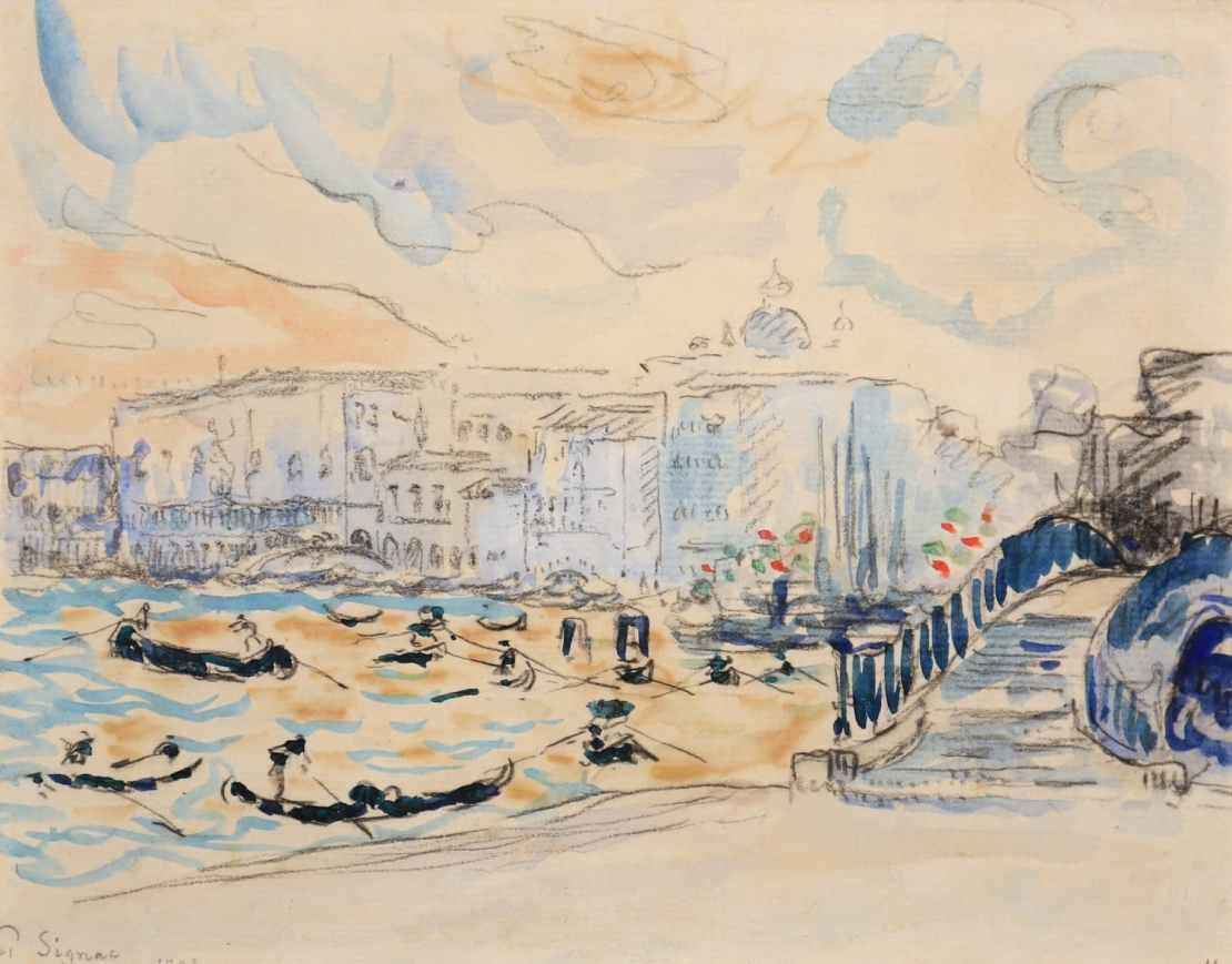 Paul Signac, Venise, 1904