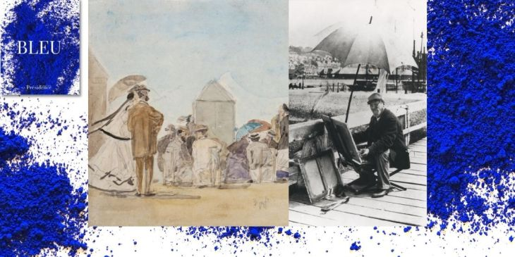 Exposition Bleu, Eugène Boudin, Nager en plein ciel