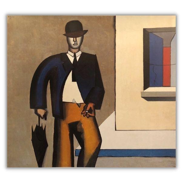 Jean Hélion, L'homme au parapluie