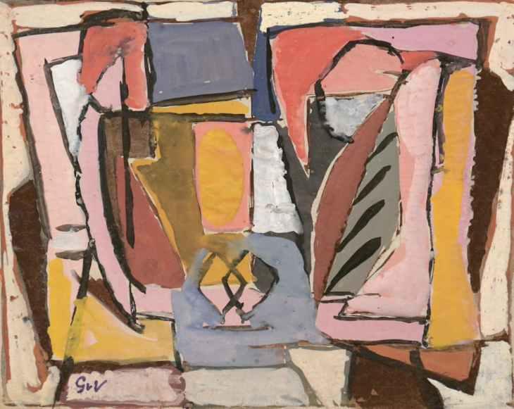 Geer van Velde, Composition, C.1945