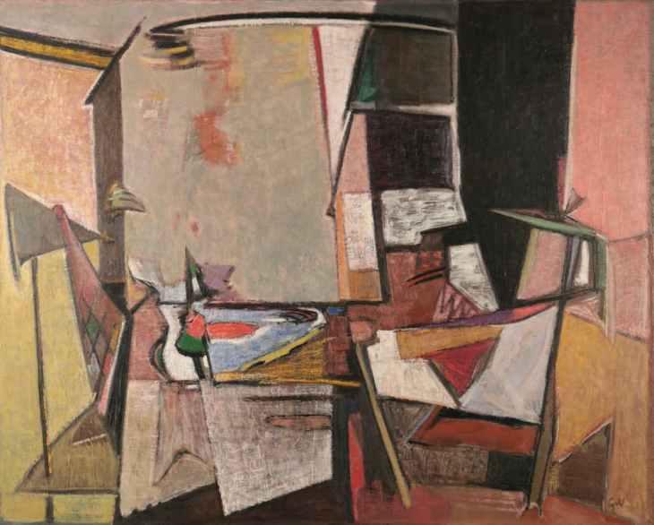 Geer van Velde, Composition, C.1946