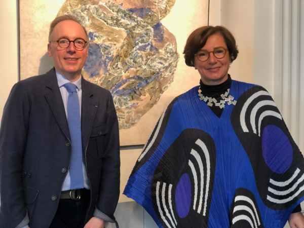 Eric Antoine-Noirel et Florence Chibret-Plaussu