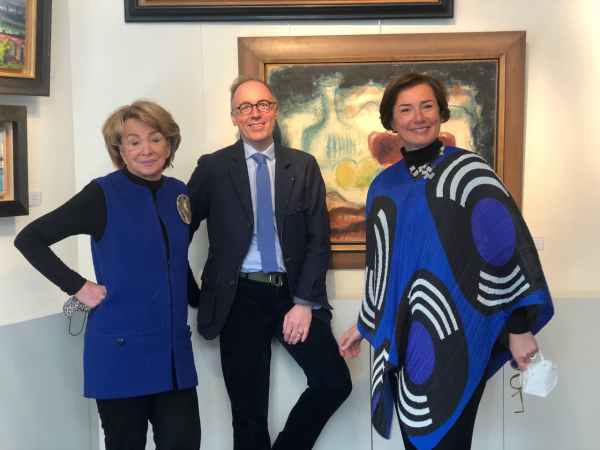 Françoise Chibret, Eric Antoine-Noirel et Florence Chibret-Plaussu