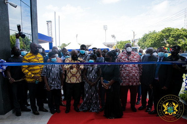 PRESIDENT AKUFO-ADDO COMMISSIONS NATIONAL SECURITY MINISTRY BUILDING; LAUNCHES NATIONAL SECURITY STRATEGY 2