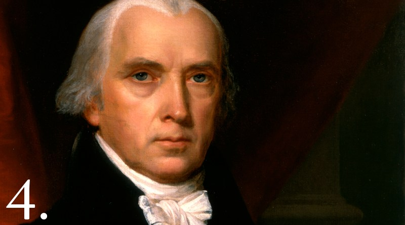 President-James-Madison-4th-President-of-the-United-States