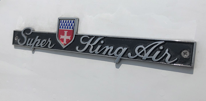 King Air 300 Badge