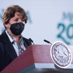 Delfina Gómez, secretaria de Educación Pública