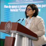 Laura Velázquez Alzúa, coordinadora nacional de Protección Civil