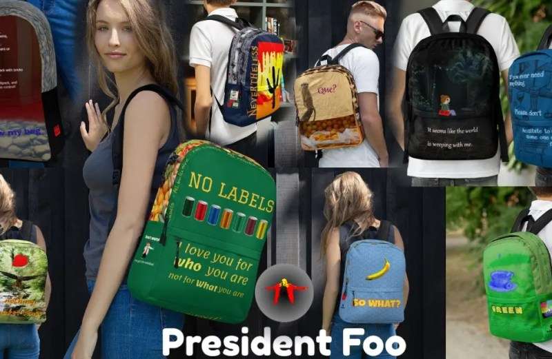 A backpack?  WeLL I guess that's not such a bad idea.